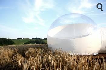 S jour insolite en tente bulle dans le cantal - Bulle pour dormir a la belle etoile ...