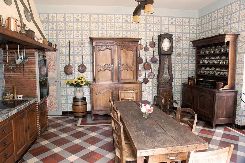 s jour la carte dans un ch teau en sologne. Black Bedroom Furniture Sets. Home Design Ideas