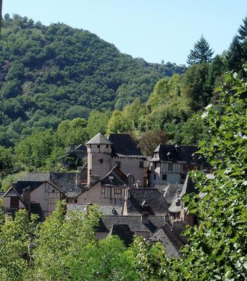 Conques- plus beau village de France
